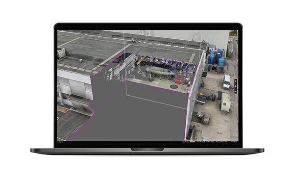 Indoor Laser Scan Simulation