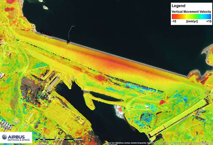 Surface Movement Monitoring with TerraSAR-X radar satellite data