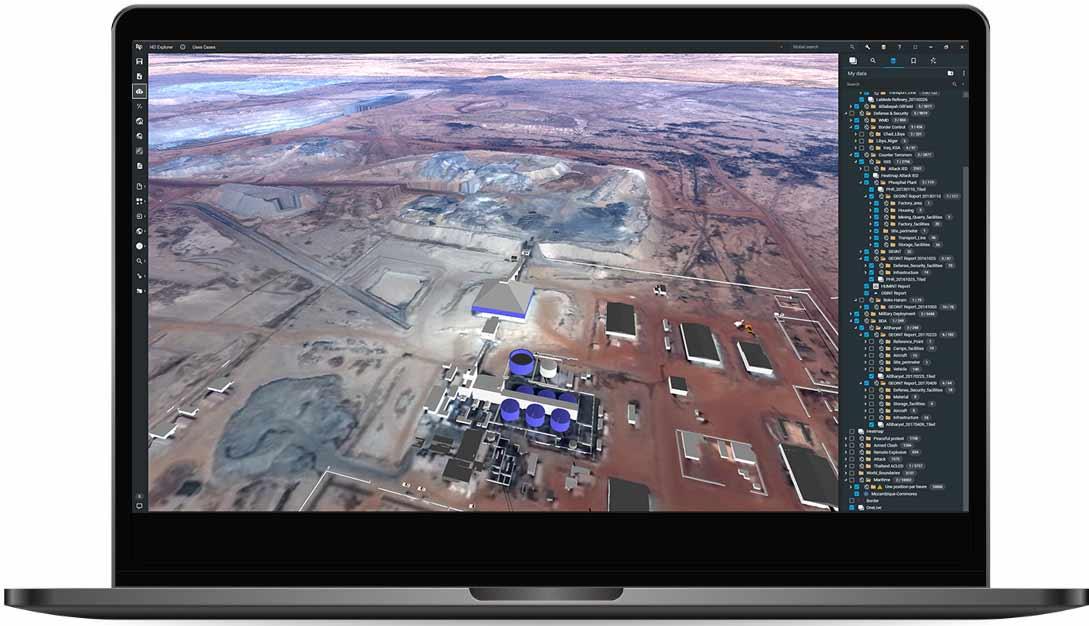 Airbus I4D screenshot refinery