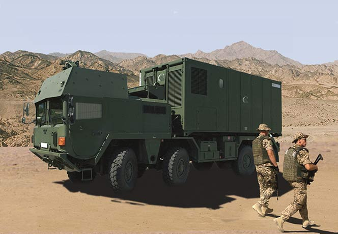 Mobile and multi-purpose Fortion TransProtec in operation