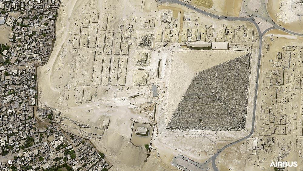 Pléiades Neo - Kheops Pyramid, Cairo, Egypt - May 2021
