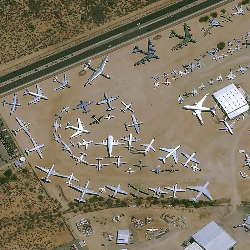 Pléiades Neo Image Satellite - Tuscon, USA