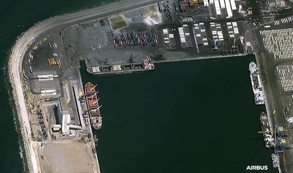 Pléiades Neo Satellite Image for Maritime - Agadir