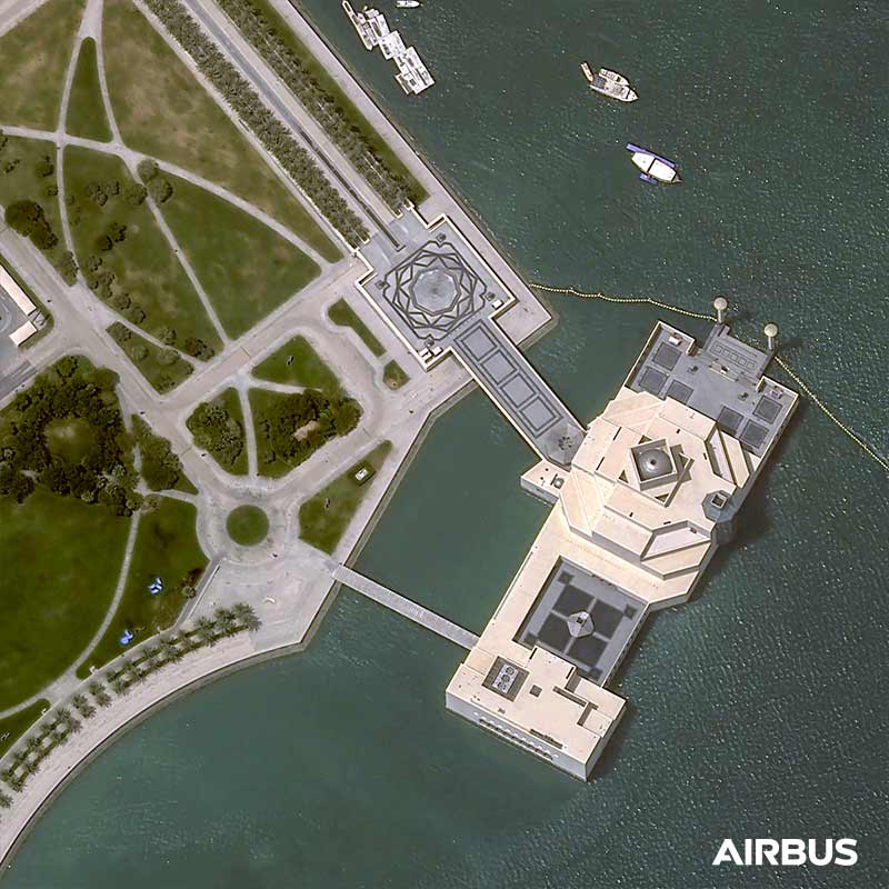 Pléiades Neo Image Satellite - Doha, Qatar