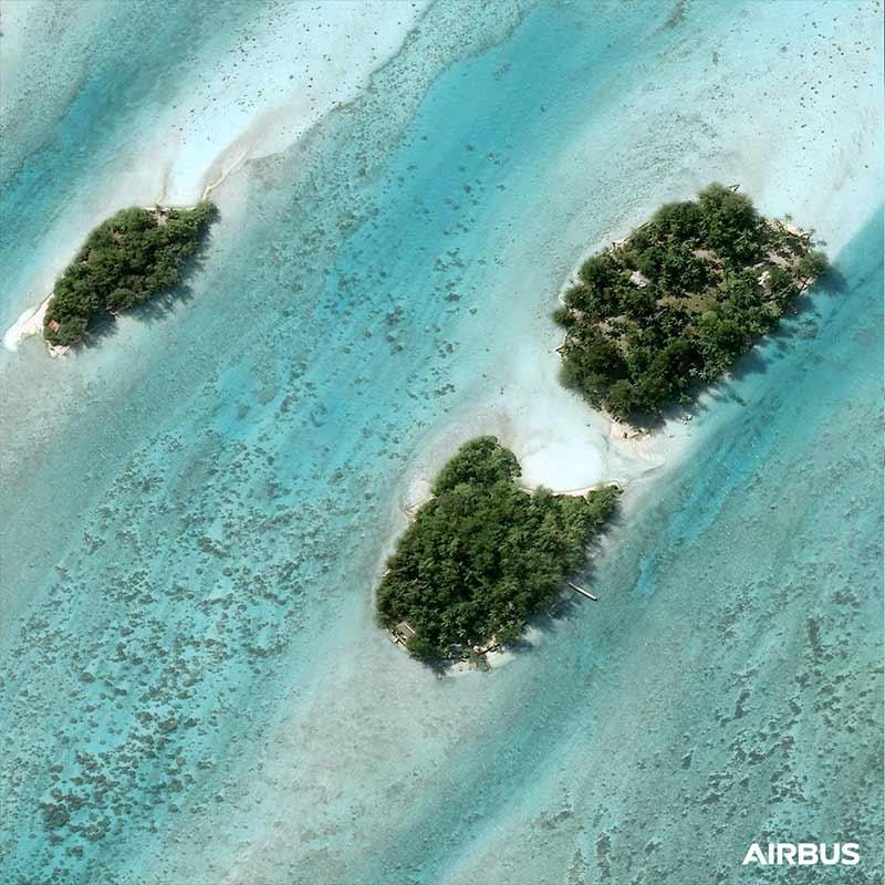 Pléiades Neo - Bora Bora - French Polynesia