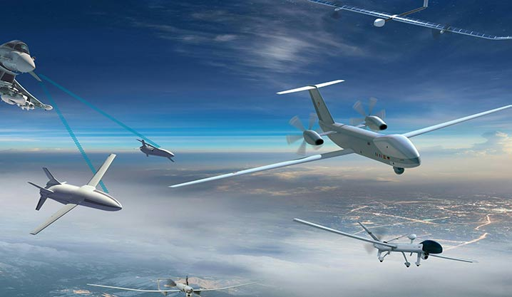 Airbus Unmanned Aerial Systems for advanced data collection