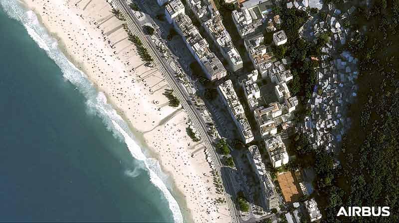 Pléiades Neo - Copacabana in Rio de Janeiro, Brazil