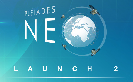 Pléiades Neo 4, the launch is coming