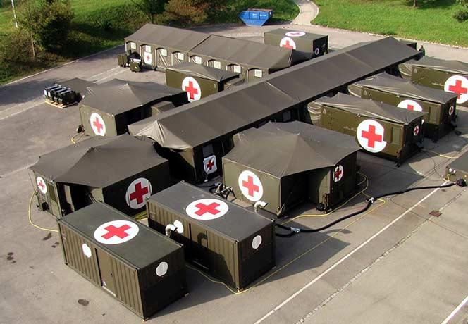 Fortion TransHospital mobile rescue centre