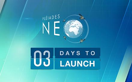 Pléiades Neo 2nd launch - 3 days