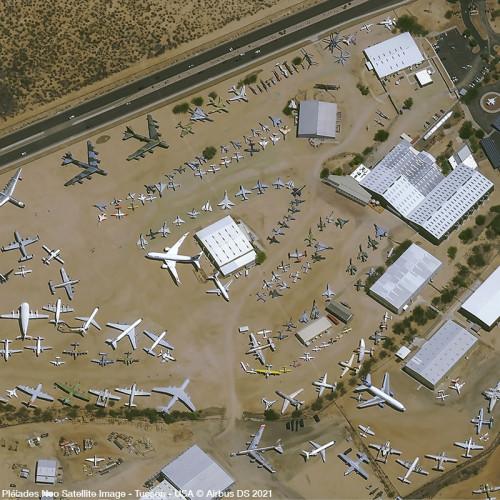 Pléiades Neo satellite image - Tucson - USA - Acquisition angle 31°- 30cm resolution