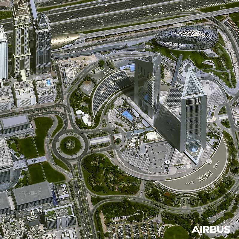Pléiades Neo - Dubaï, United Arab Emirates