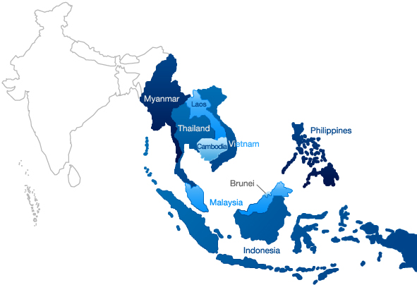 Spot Asia Partners Map