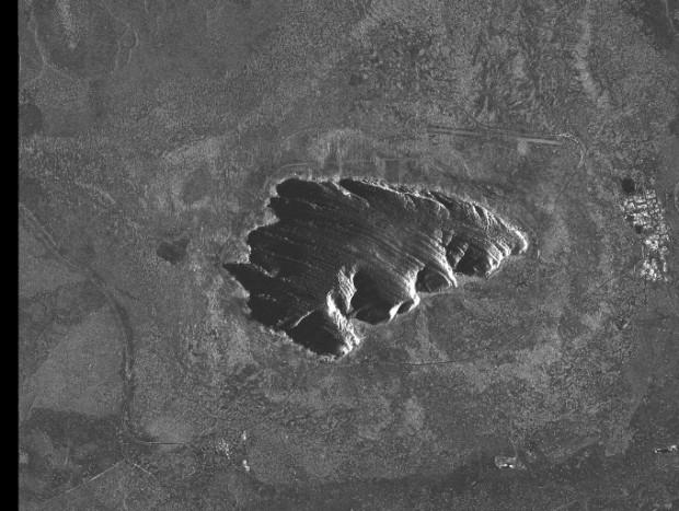 Australia, Uluru - InSAR 2