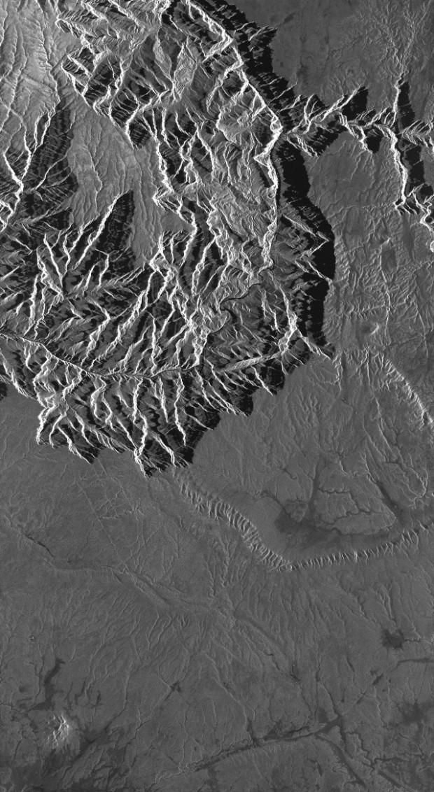 TerraSAR-X StripMap Grand Canyon - USA SSC HH