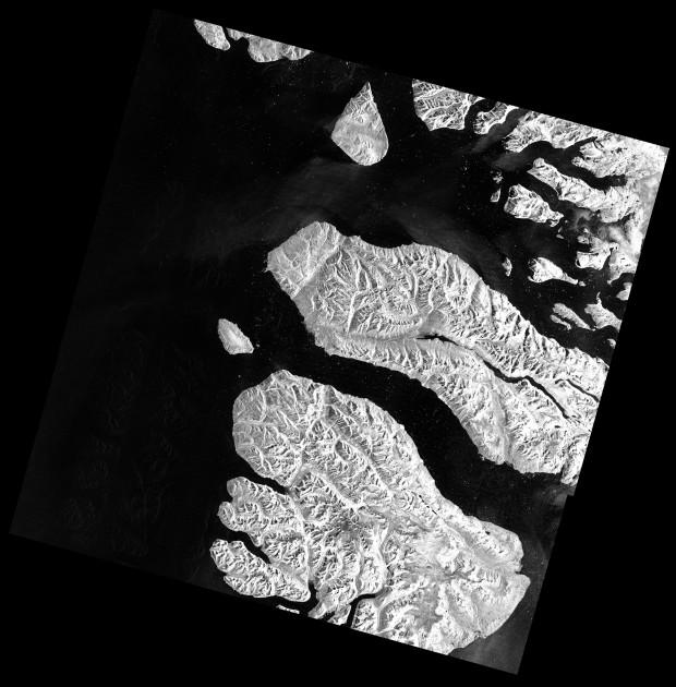 TerraSAR-X WideScanSAR BaffinBay Greenland - GEC RE HH