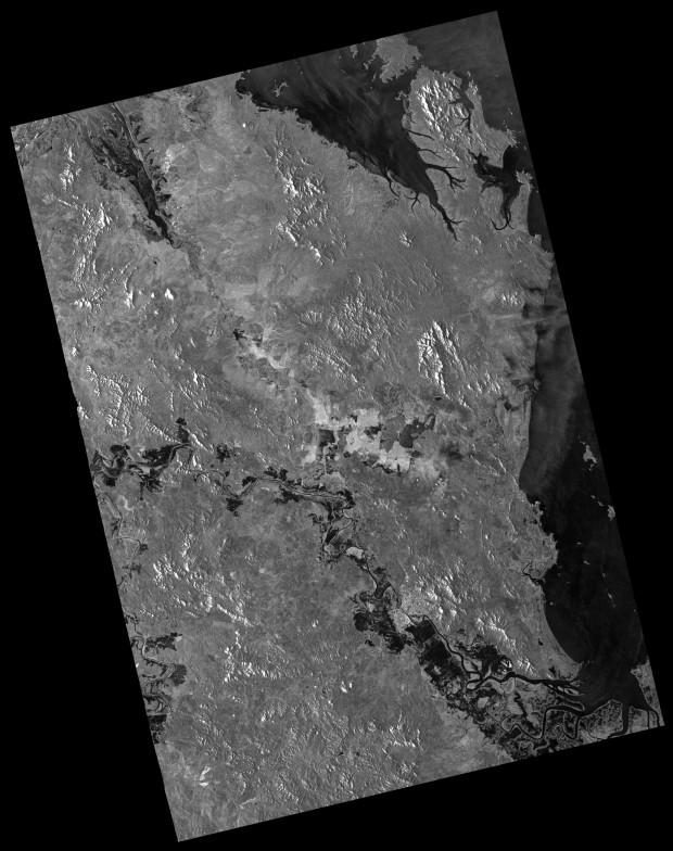 TerraSAR-X ScanSAR Rockhampton Australia - EEC RE HH