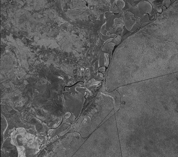 TerraSAR-X SpotLight Caprivi Namibia - SSC HH