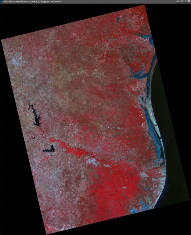 UK-DMC2 Satellite Image - Texas, USA