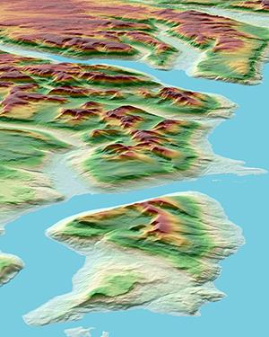 WorldDEM of Norway - DSM