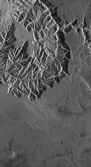 USA, Grand Canyon - InSAR 1