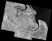 Venezuela, Turuépano National Park - Radar Mosaic