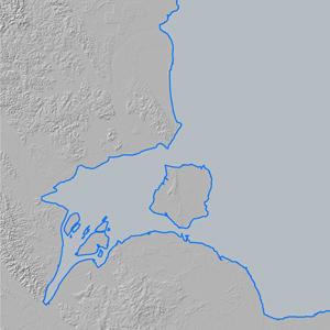 WorldDEM Ocean Shoreline - Aceh Province, Indonesia